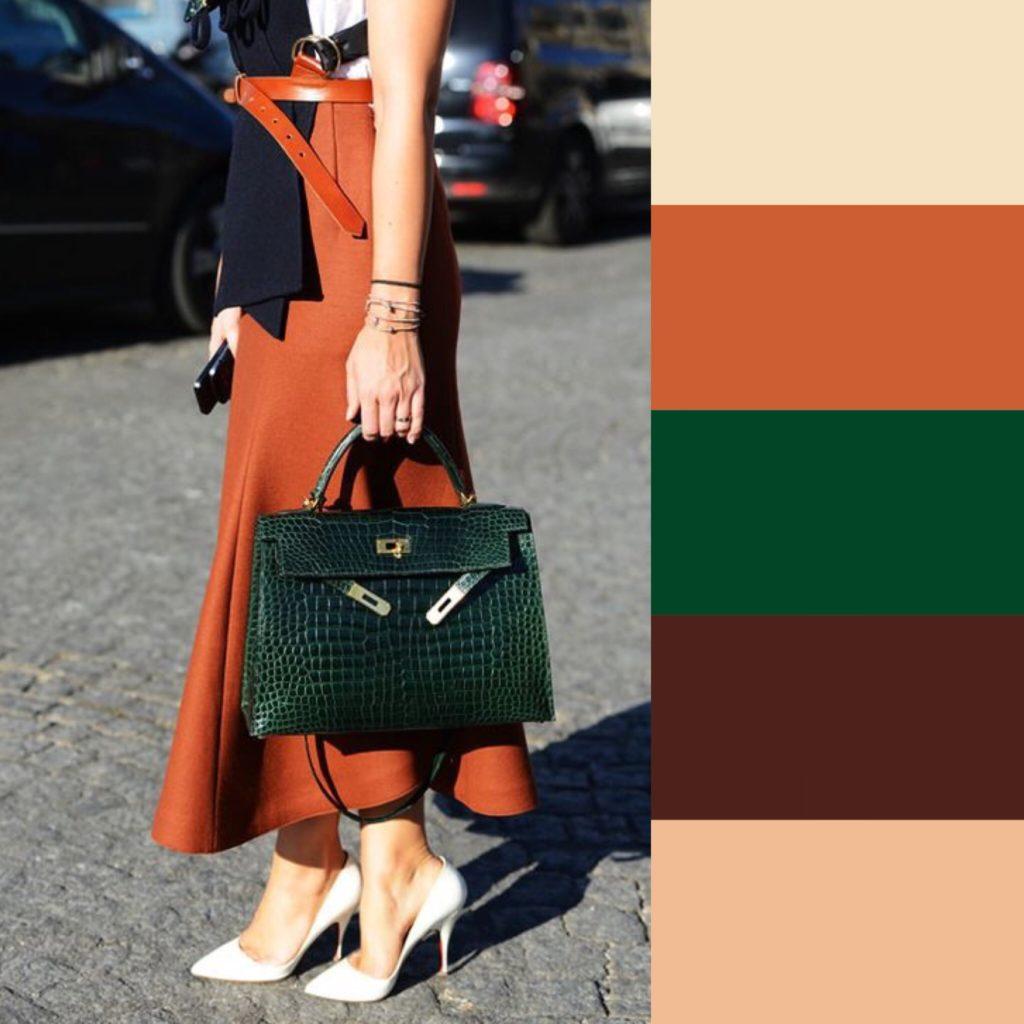 combiner les couleurs accessoires