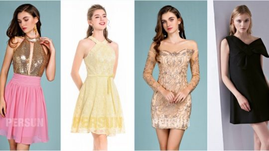 Tendances robes pour soirée filles