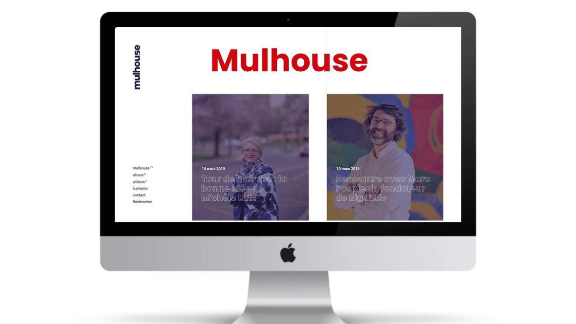 Mulhouse version web avec le site internet www.mulhou.se