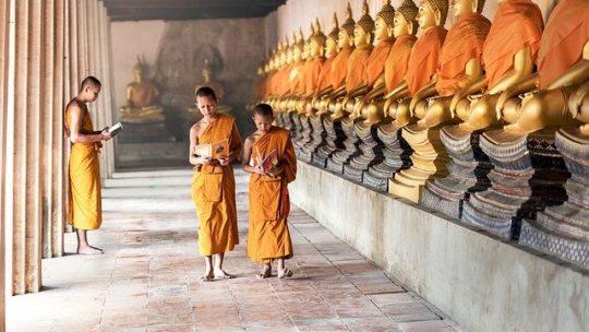 Religion et voyage spirituel Cambodge.