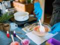 Savon insectifuge en saponification à froid