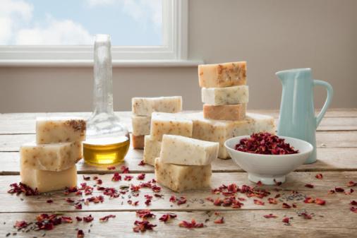 Composition d'un savon naturel